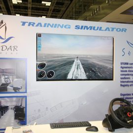 STORM SIM Simulator was introduced at the Exhibition in Qatar (Doha)…