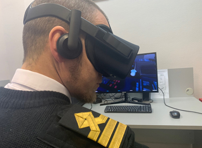 SaS simulator and VR equipment were jointly first used during training of shipping and petroleum company's employees