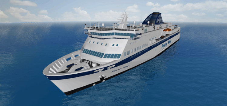 "STORM SIM has developed 3D stand ""Ro-Ro Passenger Ferry"""