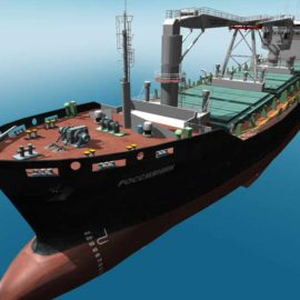 "STORM SIM has developed 3D stand ""Virtual ship"""
